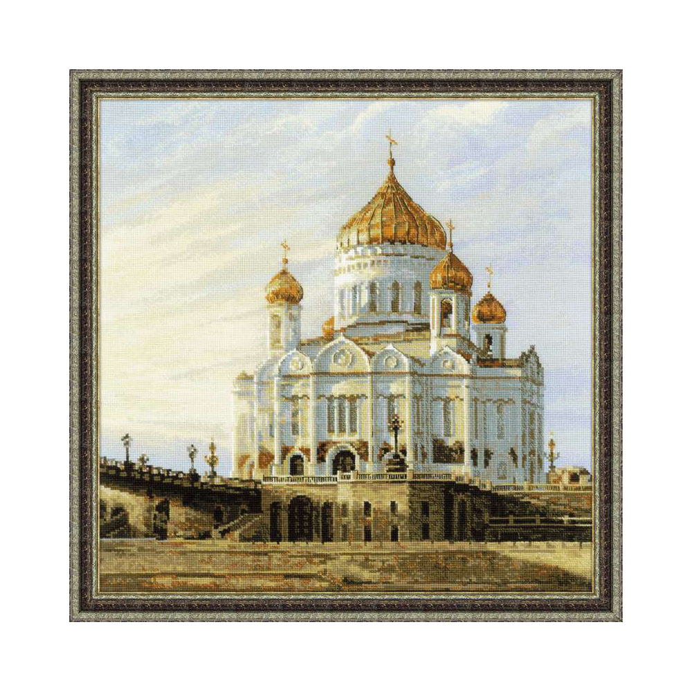 Схема вышивки храм христа 76